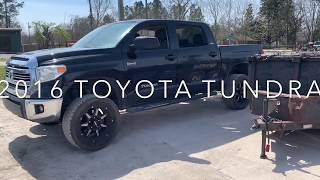 "2016 Lifted Toyota Tundra SR5 Crew Max on 20"" Terra Grapplers G2"