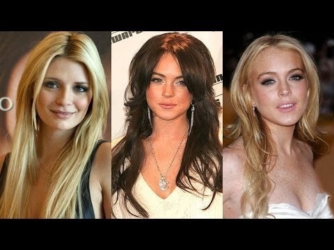Long, Layered Hairstyles for Round Faces