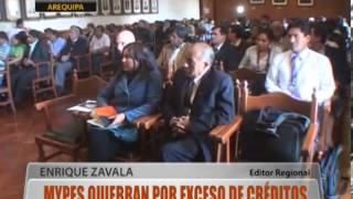 Mypes Quiebran Por Exceso De Cr�ditos