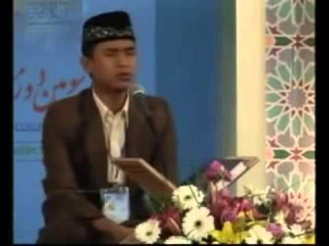 SALIM GHAZALI JUARA MTQ TAHFID ALQURAN INTER NASIONAL 2011 DI IRAN small