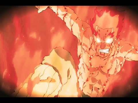 Naruto AMV - Might Guy vs Uchiha Madara (Full Fight)