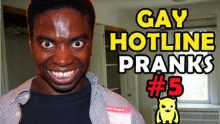 Gay Hotline Prank Compilation #5 - Ownage Pranks