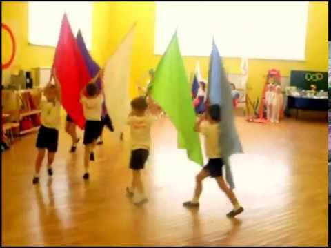 Спортивная композиция Олимпиада в детском саду (моб. версия)