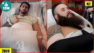 15 Shocking WWE Superstars Surgery Photos You Must See 2018 - Roman Reigns, Braun Strowman..
