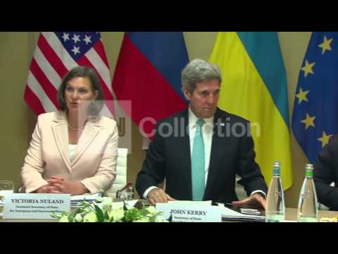 KERRY AND LAVROV MEET ON UKRAINE CRISIS