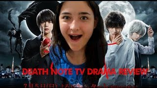 Death Note TV Drama - First impressions