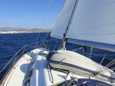 Little nice sail to Naxos