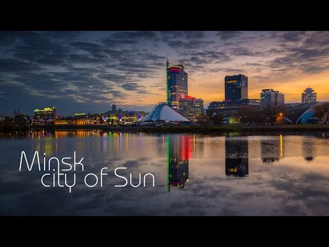 Minsk… city of Sun.