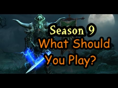Diablo 3 What should you play in Season 9 - Build Review All Classes