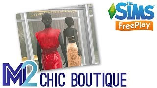 Sims FreePlay - Chic Boutique Event Prizes Showcase (Early Access)