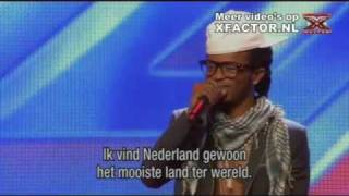 X FACTOR 2011 - auditie Musah