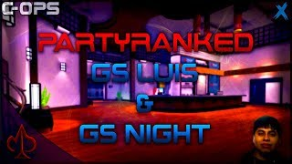 Critical Ops: PARTY RANKED WITH GS LUIS AND GS NIGHT (check description)