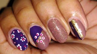 Easy nail art using dotting tools