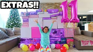 TIANA'S BIRTHDAY PRESENTS OPENING!!