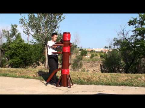 Yip Man Wing Chun Basic Wooden Dummy Drill I - 詠春拳- 實戰詠春拳功夫 Image 1