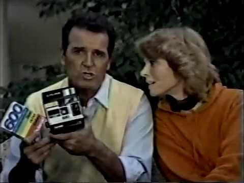 James Garner & Mariette Hartley 1983 Polaroid Commercial ...