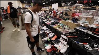 1 MILLION DOLLARS WORTH OF SNEAKERS AT SNEAKER CON !!!