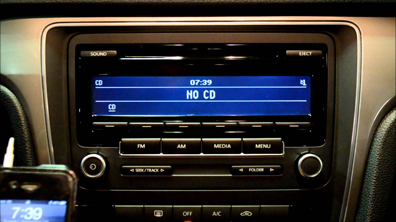 how to streaming bluetooth audio with vw rcd 310 stereo. Black Bedroom Furniture Sets. Home Design Ideas