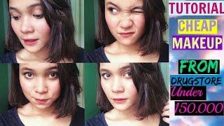 Tutorial Makeup Murah Dari Drugstore(Watson&Guardian),Etude House (Bahasa)│Dinda Shafay