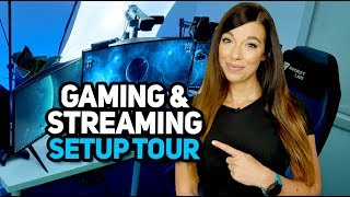 My Gaming/Streaming Setup Tour 2018!