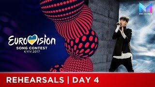 Eurovision 2017 | Rehearsals Day 4 - MY TOP 9