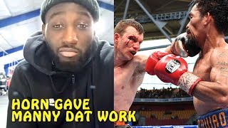 Terence Crawford disses Manny Pacquiao 'Jeff Horn battered him'