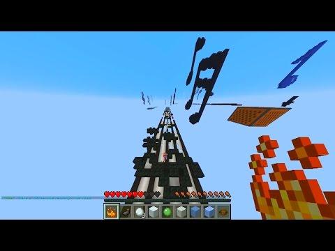 Minecraft XRUN PARKOUR #9 with Vikkstar & PeteZahHutt (Minecraft XRUN)