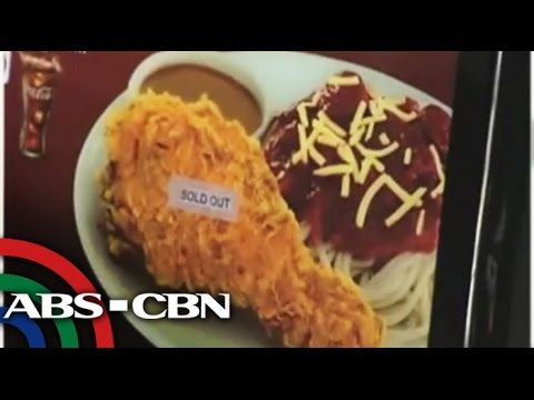 Why You Can't Find Chickenjoy At Jollibee video