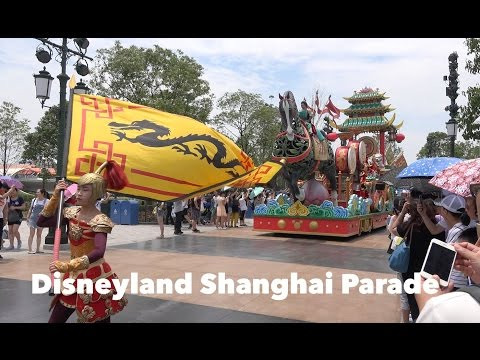 Disneyland Shanghai Parade - Mickey's Storybook Express [4K - Full]