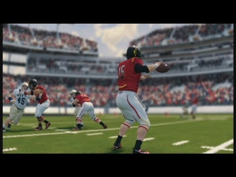 NCAA Football 14 Maryland Vs. Navy - Full Game - No Commentary