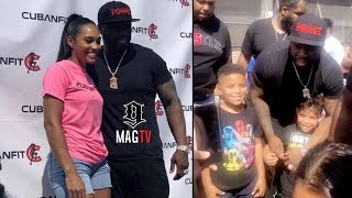 50 Cent Supports New Boo Cuban Link's Back To School Giveaway!