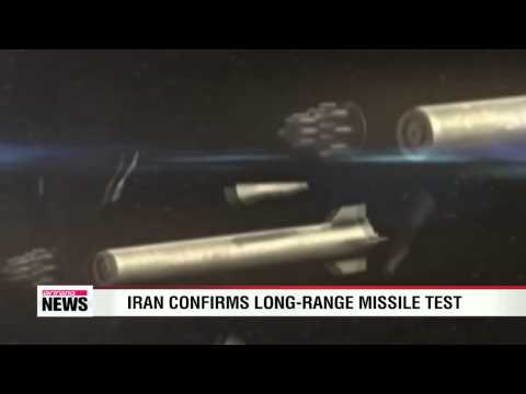 Iran confirms long-range missile test