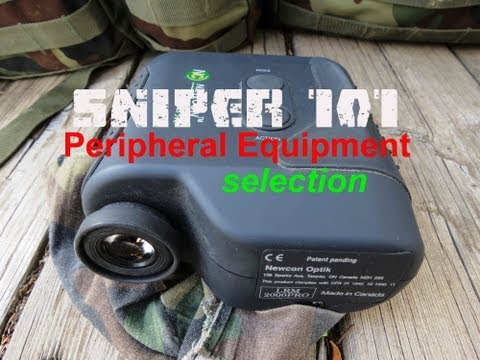 SNIPER 101 Part 24 - Sniper Field Kit and Peripheral Equipment Part B - Rex Reviews