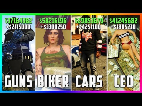 GTA 5 Online - Top 5 BEST Businesses To Buy & Make Money! (CEO VS BIKERS VS IMPORT/EXPORT VS HEISTS)