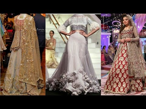 Latest & Amazing Different Bridal Dresses Design Collection 2018 | Top Best Dresses Design For Bride