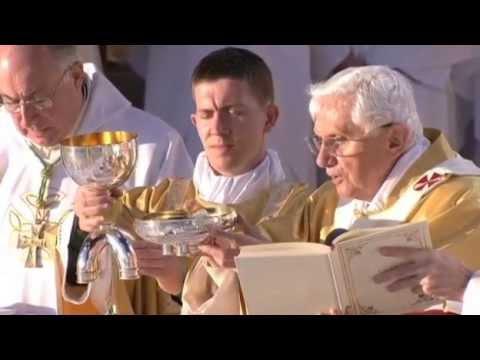 Pope Benedict XVI - Mass in Bellahouston Park, Edinburgh - Full video