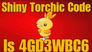 PTD 2: Mystery Gift Code for Shiny Torchic (Pokemon Tower Defense 2 ...