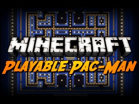 Minecraft: Playable Pac-Man Arcade!