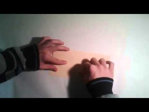 Origami para principiantes  #5 Como hacer un gorro de enfermera de papel  facil