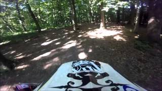 Ride in the forest Honda CR 85 swap am6 malina GoPro