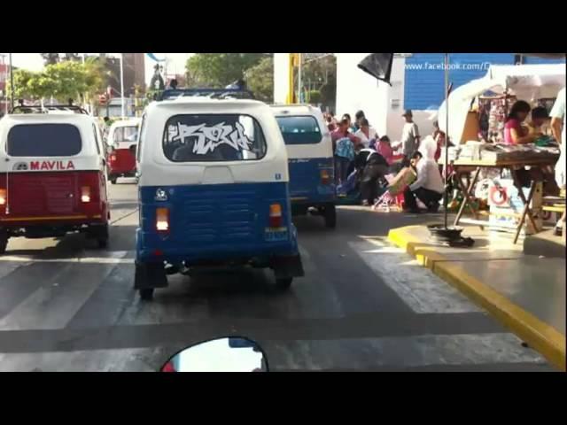 Recorrido por calles de Chepén 2011