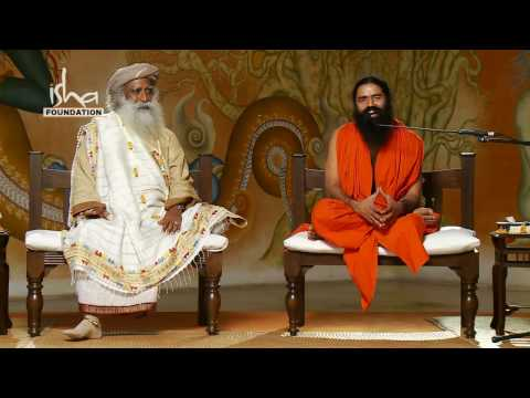 Baba Ramdev visits Isha Yoga Center - Part 4