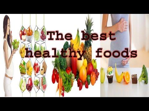 The best healthy foods for women in pregnancy
