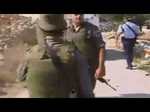 Palestinian boy begs Israeli soldiers not to take his Father for stealing him fresh water