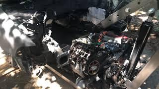 1999 2000 Audi A4 Quattro 2.8 Facelift parts car/scrap heap.