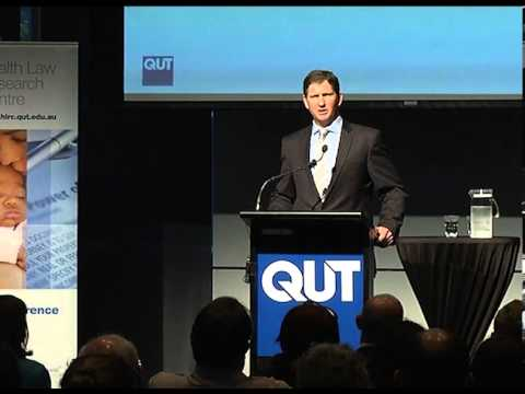 Health Law Research Centre Launch - The Honourable Lawrence Springborg MP