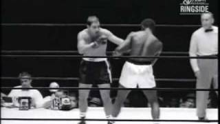 Rocky Marciano vs Ezzard Charles II - Sept. 17, 1954 - Rounds 1 - 8