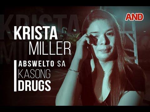 Krista Miller, abswelto sa kasong drugs
