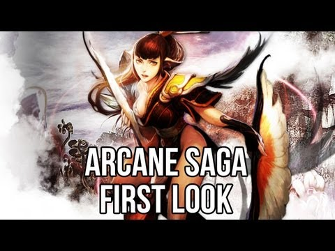 Arcane Saga (Free MMORPG Game): Watcha Playin'? Gameplay First Look