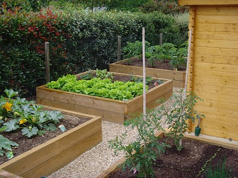 Amenagement d 39 un potager sureleve for Amenagement jardin exterieur photo